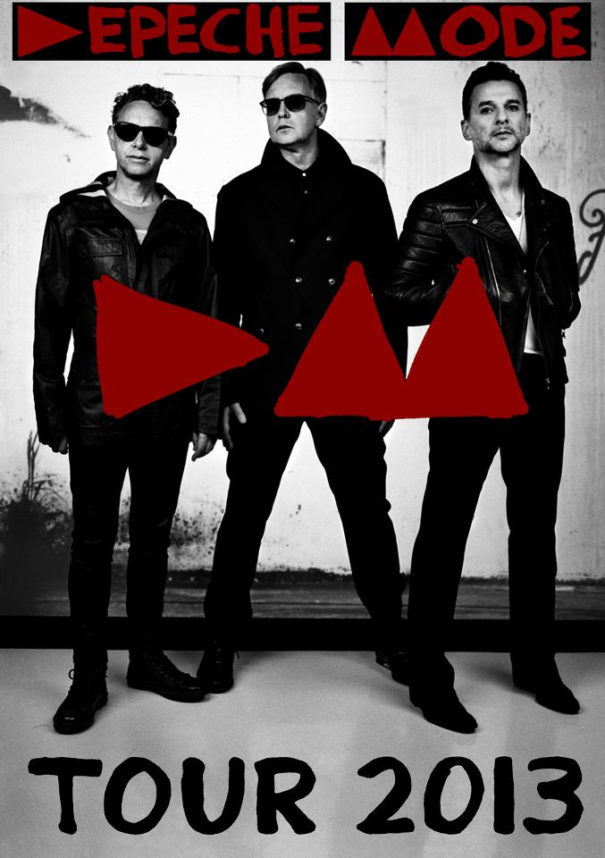 TOUR 2013 DEPECHE MODE