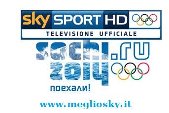 Olimpiadi di Sochi 2014 solo su Sky