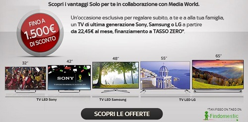 offerta sky televisore a rate