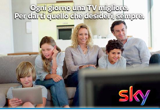 aumento di listino sky come pubblicità
