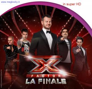finale di Xfactor in Super HD