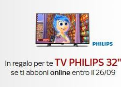 sky tv philips 32 pollici