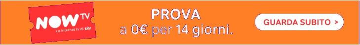 Offerta Now tv 14 gg gratis