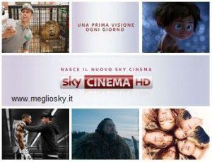Sky Cinema: una prima visione al giorno