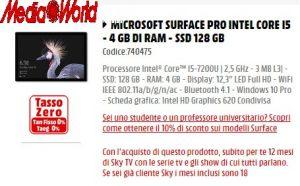 PC da Mediaworld: in regalo 12 mesi di sky ai nuovi clienti e 18 mesi di un pacchetto ai già clienti