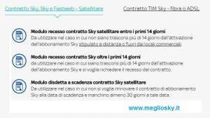 Come scrivere la lettera di recesso Sky per modifica delle condizioni contrattuali