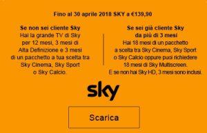 Sky scontato per chi ha un mutuo con Intesa San Paolo