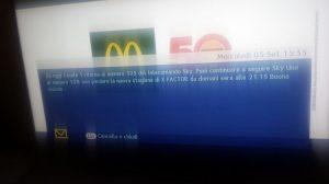 Canale5 di nuovo sul decoder Sky