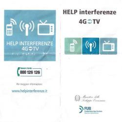 Interferenze 4G per il DTT