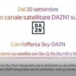 DAZN su Sky canale 209